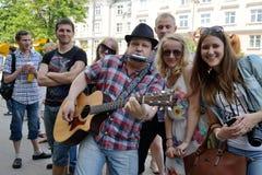 Free Street Music Day, Vilnius Royalty Free Stock Photo - 34360385