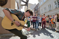 Free Street Music Day, Vilnius Royalty Free Stock Images - 34360529