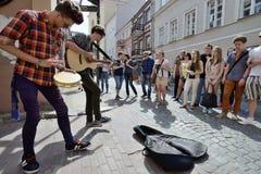 Free Street Music Day, Vilnius Stock Photography - 34360602