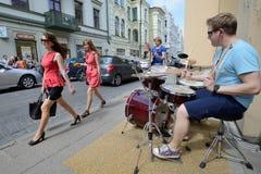 Street music day, Vilnius Stock Photos