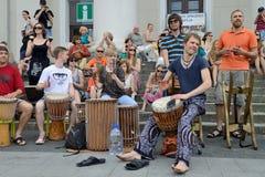 Street music day, Vilnius Royalty Free Stock Photo