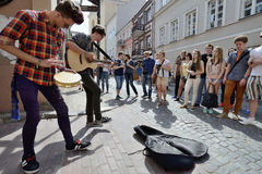 Street music day, Vilnius Stock Photography