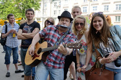Street music day, Vilnius Royalty Free Stock Photo
