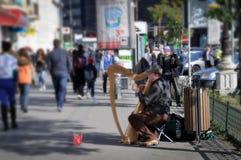 Street music Stock Image