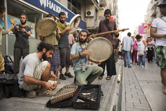 Street music Royalty Free Stock Photography