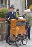 Street musician Royalty Free Stock Photo
