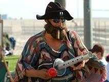 Street Musician 3 Stock Photos