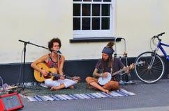 Street Musician in Camden Lock Stock Image