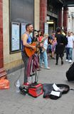 Street Musician in Camden Town Royalty Free Stock Images