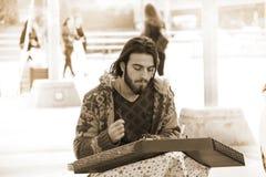 Street Musician Stock Photography