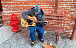 Street Musician Stock Photography