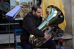 Street Musician 53 Royalty Free Stock Photo
