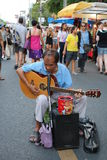 Street musician in Thailand Royalty Free Stock Photography