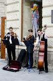Street musicians Stock Photography