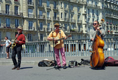 Street musicians. Stock Images