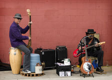 Street Musicians, Encinitas, California Stock Photos
