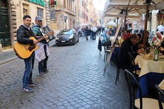 Street musicians Stock Photography