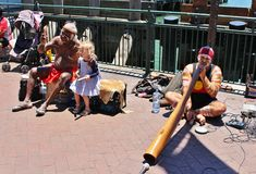 Street Musicians in Sydney Stock Photography
