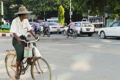 Street in Myanmar Stock Images
