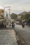 Street in Myanmar Royalty Free Stock Images