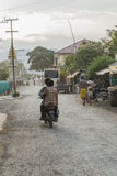 Street in Myanmar Royalty Free Stock Photos