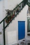 Street of Mykonos Royalty Free Stock Photos