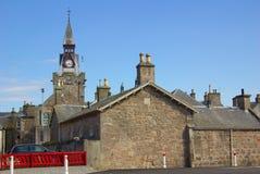 Street in Nairn, Scotland Royalty Free Stock Photo
