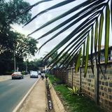 A street in Nairobi Stock Images