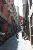 A street in Naples Stock Photos