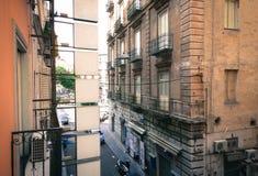 Street in Naples Stock Photos