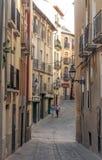 Street of Navarra Stock Photo
