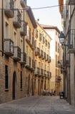 Street of Navarra Stock Photography