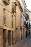 Street of Navarra Royalty Free Stock Photo
