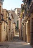 Street of Navarra Stock Images