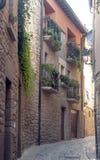 Street of Navarra Royalty Free Stock Image