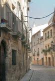 Street of Navarra Stock Photos