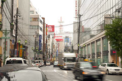 Street near Namba Station Stock Photography