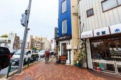 Street near tokyo shop in Asakusa Tokyo Royalty Free Stock Photo