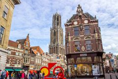 Street in Nederland Royalty Free Stock Photos
