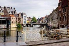 Street in Nederland Stock Photo