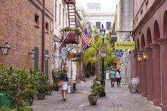 Street in New Orleans Downtown, Louisiana Royalty Free Stock Photo