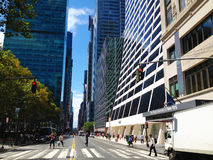 Street of New York city Royalty Free Stock Photos
