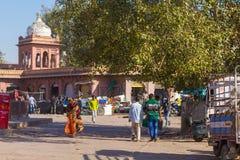 Street next to Sardar Market in Jodhpur Stock Photo