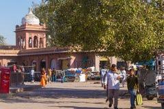 Street next to Sardar Market in Jodhpur Royalty Free Stock Photo