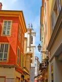 Street in Nice Stock Photo