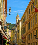 Street in Nice royalty free stock images