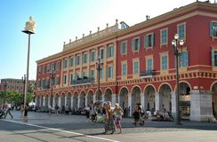 Street in Nice France Royalty Free Stock Images