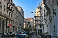 Street in Nice France Royalty Free Stock Photography