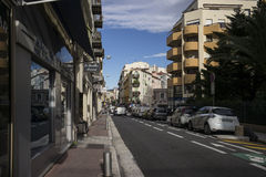 Street in Nice, France. Stock Images