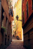 Street in Nice Stock Photography